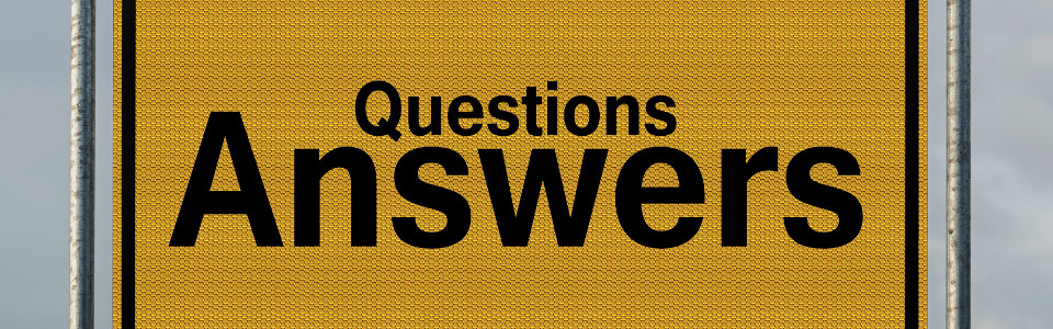 Questions and answers for real estate