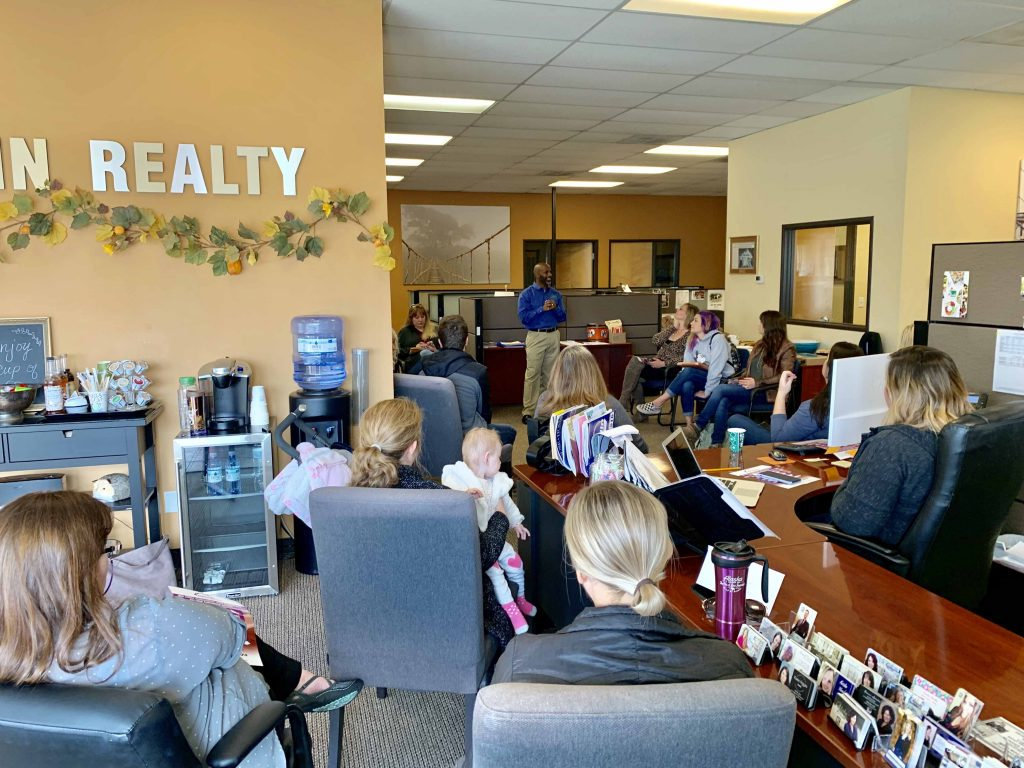 Sundin Realty Real Estate Agent Meeting